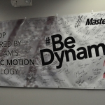 Mastercam Be Dynamic Poster