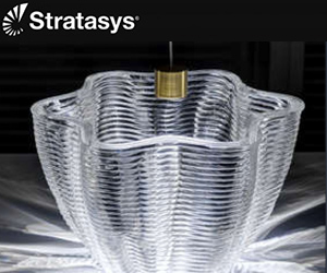 additively manufactured fine glass