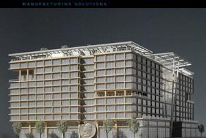 KMCA 3D printed Architectural Models