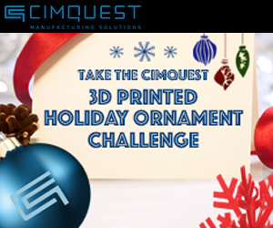 3D printed ornament challenge