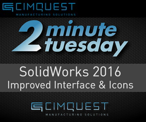 SOLIDWORKS 2016 Improved User Interface