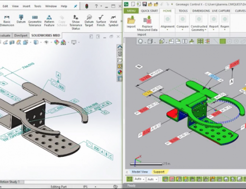 Using SolidWorks DimXpert for Final Inspection