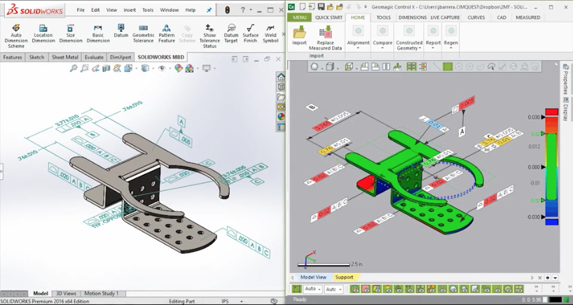 Using SolidWorks DimXpert for Final Inspection – Cimquest Inc ...