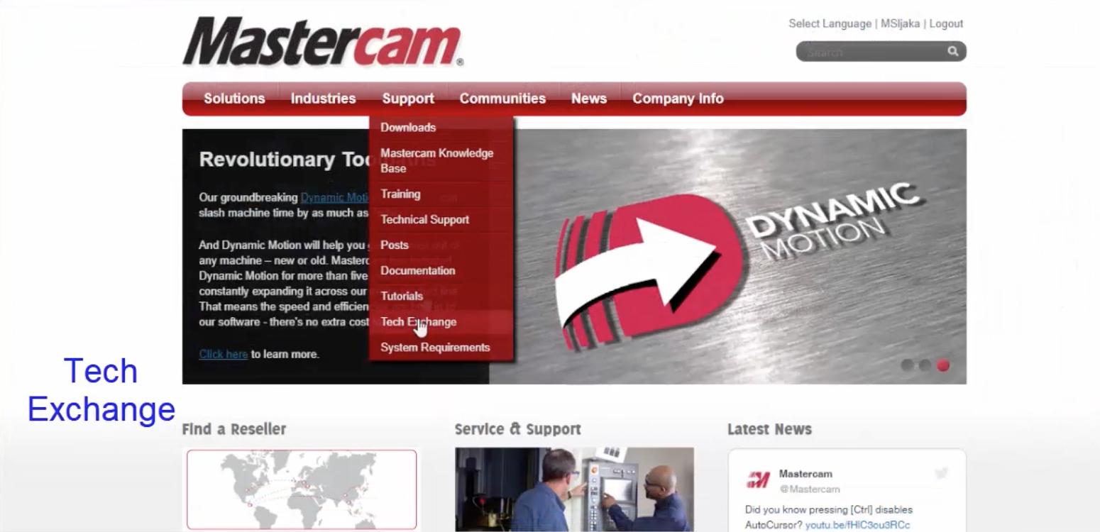 Mastercam Tech Exchange