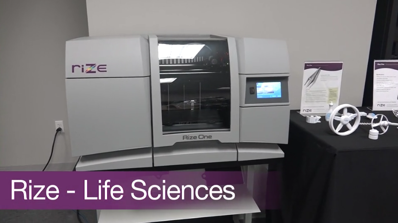 Rize 3D Printing in Life Sciences