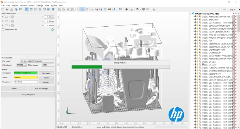 Netfabb HP Workflow