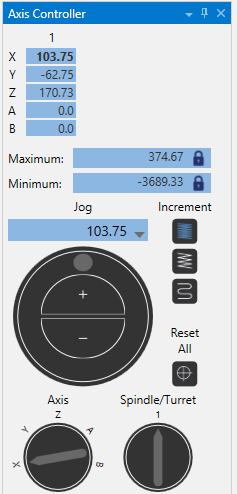 Mastercam Axis Controller