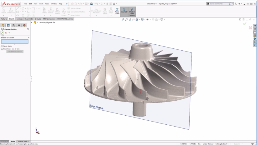 Solidworks Slicing Tool – Cimquest Inc , Manufacturing Solutions