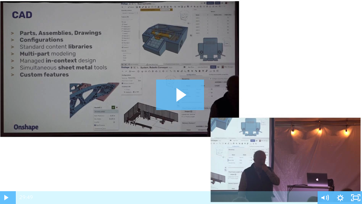 Onshape Co-founder John Mceleney Presents Keynote at Xpand3D
