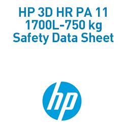 3D HR PA 11 1700L-750 kg Material