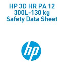 3D HR PA 12 300L-130 kg Material