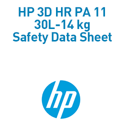 HP 3D HR PA 11 30L-14 kg Material