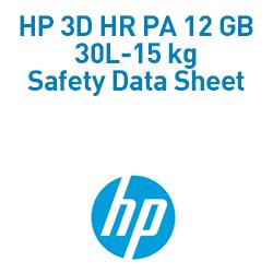 HP 3D HR PA 12 GB 30L-15 kg Material