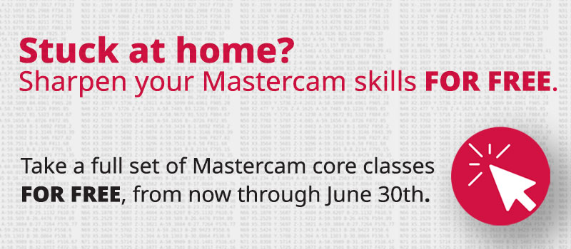 Free Mastercam University Classes