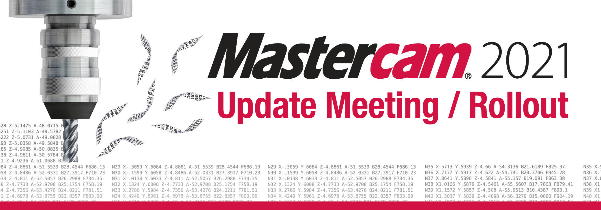 Mastercam 2020 Rollout