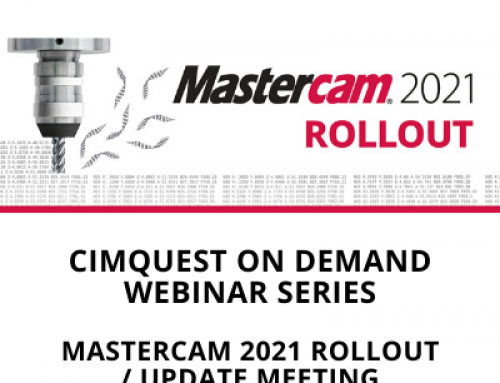 Mastercam 2021-Update Rollout Meeting Webinar
