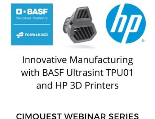 Innovative Manufacturing with BASF Ultrasint TPU01 and HP 3D Printers – Webinars on Demand