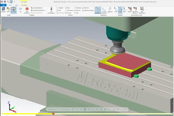 Define a Custom Face Mill Profile Using Solid Models in Mastercam