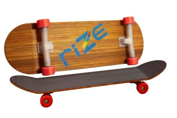 RIZE Debuts Rizium Glass Fiber Filament for Full-Color 3D Printing