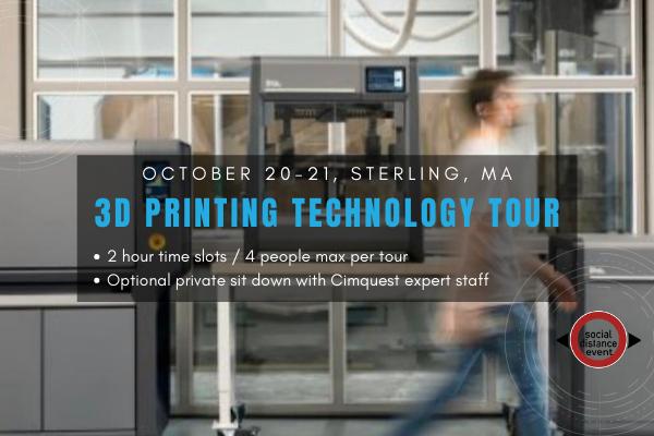 3D printing technology tour ma