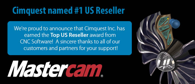 #1 Mastercam Reseller in the USA