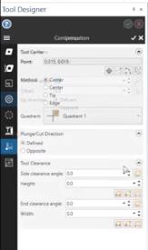 3D Lathe Tool Enhancements in Mastercam 2021