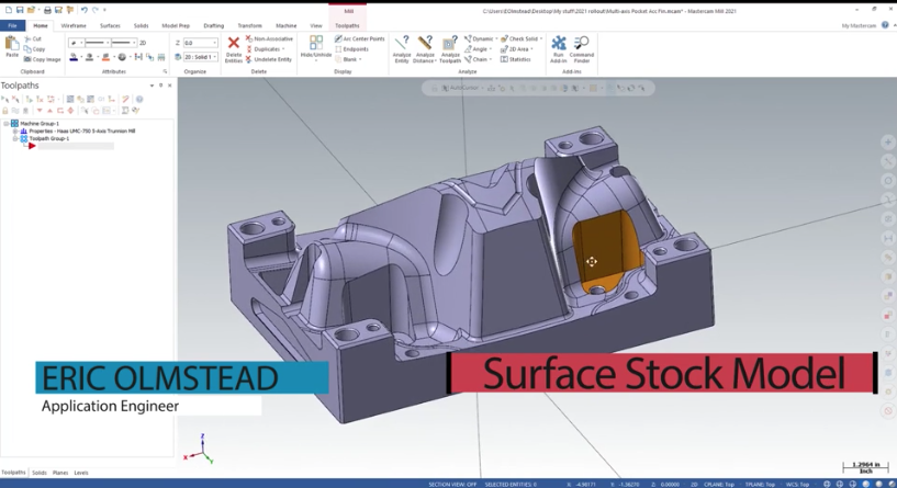 Using Surfaces to Create Stock models