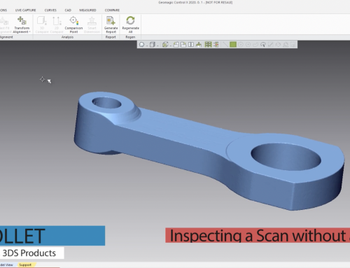 How to Inspect a Scan Without a CAD Model