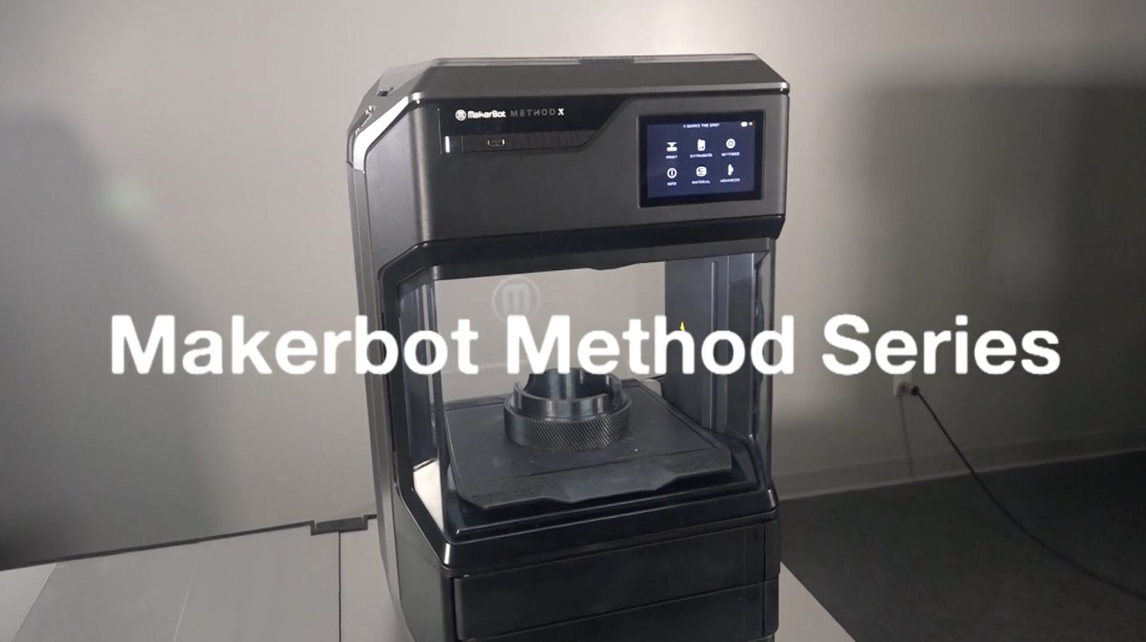 Exploring the MakerBot Method 3D Printer