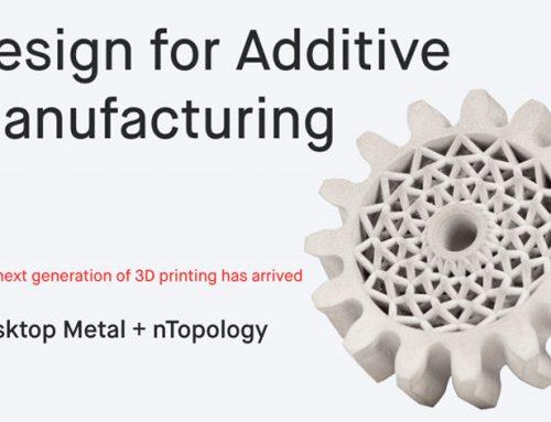 Upcoming Desktop Metal Webinar – Design for Additive Manufacturing