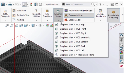 Mastercam for SolidWorks 2017 Gviews