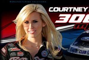 Courtney Force at ALTA
