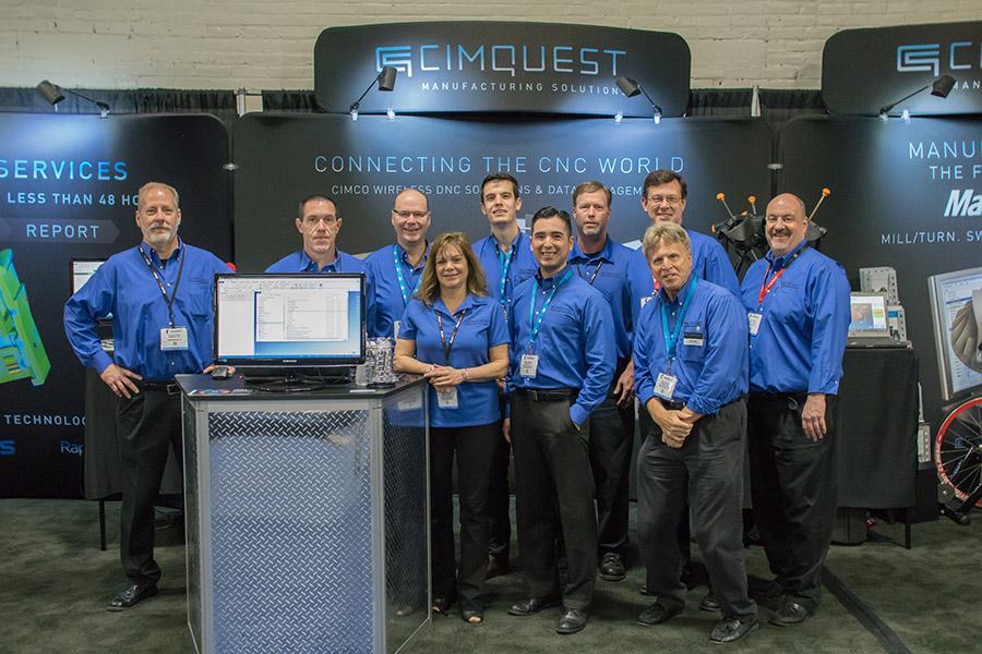 Cimquest team at EASTEC 2017