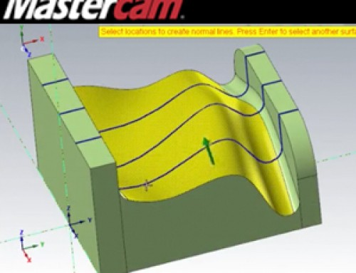 Mastercam Dynamic Point & Line Normal Functions