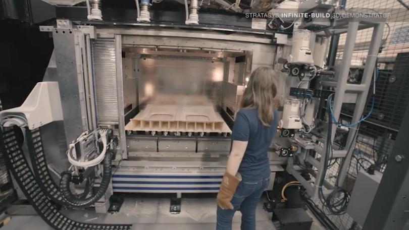 Infinite Build 3D Printer