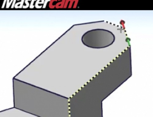 Mastercam Guided Solid Chaining