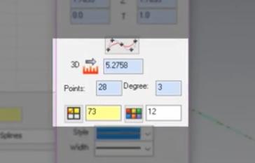 Mastercam Spline Editing