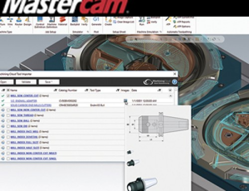 Mastercam Connected to MachiningCloud