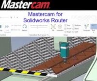 Mastercam for SolidWorks Router