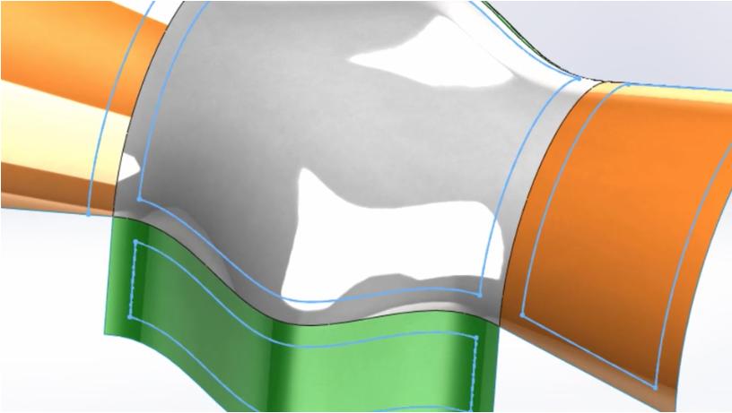 SolidWorks 2017 3D Offset