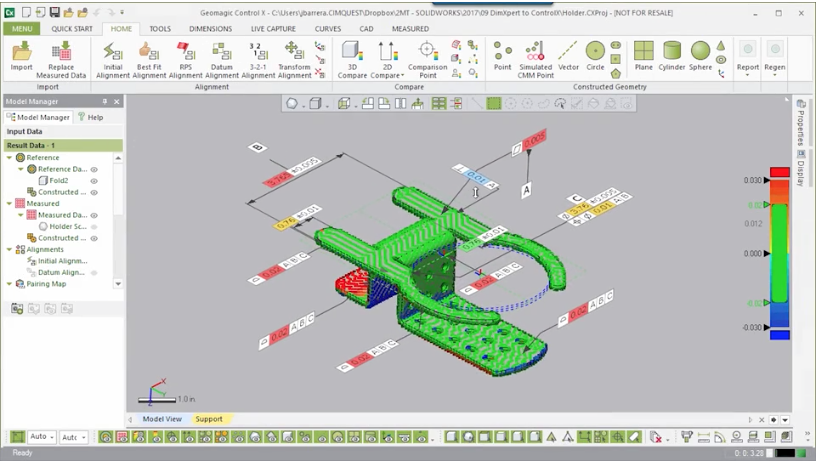 Using SolidWorks PMI for Final Inspection – Cimquest Inc