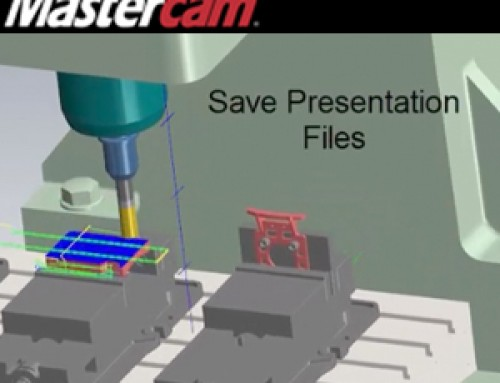 Mastercam 2018 Simulation Presentation Files