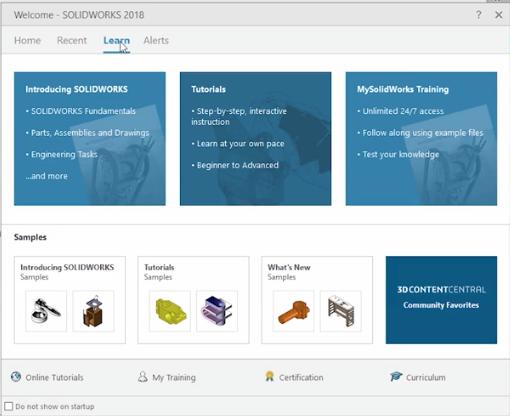 SolidWorks 2018 UI Enhancements