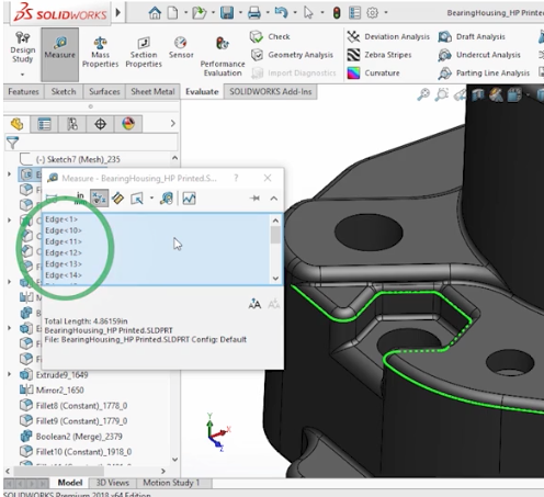 SolidWorks 2018 UI Enhancements