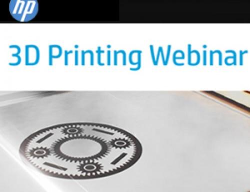 HP 3D Printing Webinar